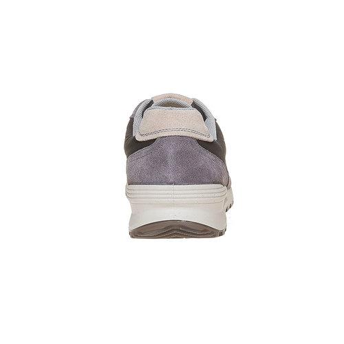 Sneakers grigie da uomo bata, grigio, 849-2692 - 17