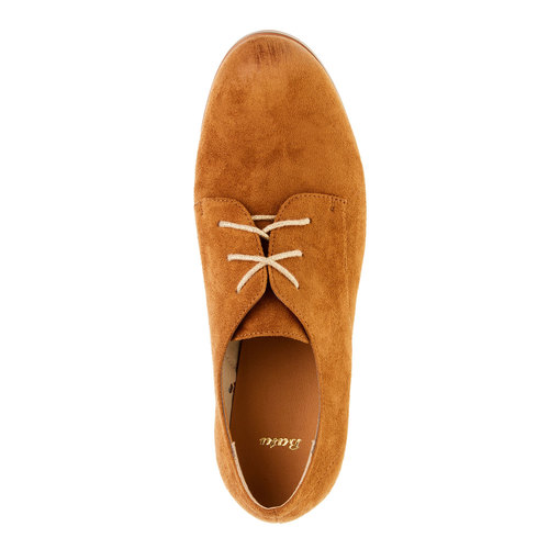 Scarpe basse da donna in stile Derby bata, marrone, 529-3492 - 19