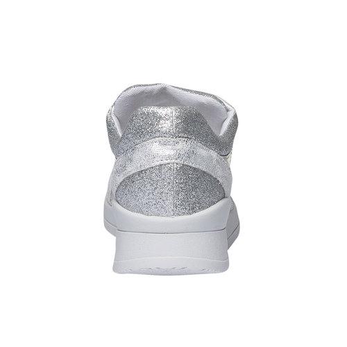 Sneakers metallizzate north-star, bianco, 549-1232 - 17