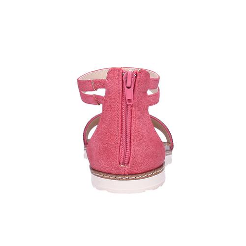 Sandali rosa da bambina mini-b, rosa, 361-5161 - 17