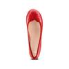 Ballerine in pelle bata, rosso, 524-5144 - 17