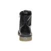 Scarpe alla caviglia con suola massiccia mini-b, nero, 391-6258 - 17
