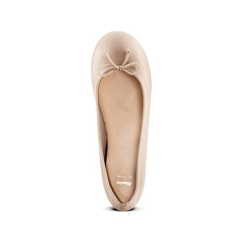 Ballerine da donna bata, beige, 524-8144 - 17