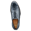 The Shoemaker derby in vera pelle bata-the-shoemaker, blu, 824-9594 - 17