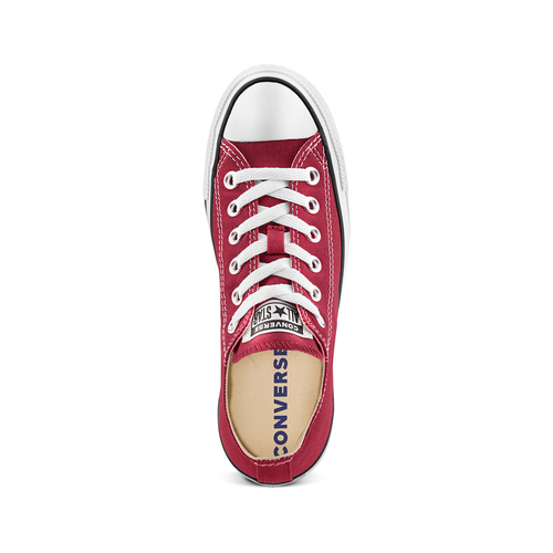 Sneakers in tessuto converse, rosso, 589-5279 - 17