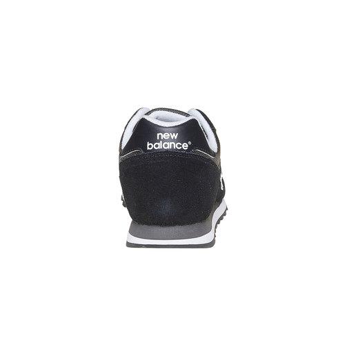 Sneakers da uomo in pelle new-balance, nero, 803-6371 - 17