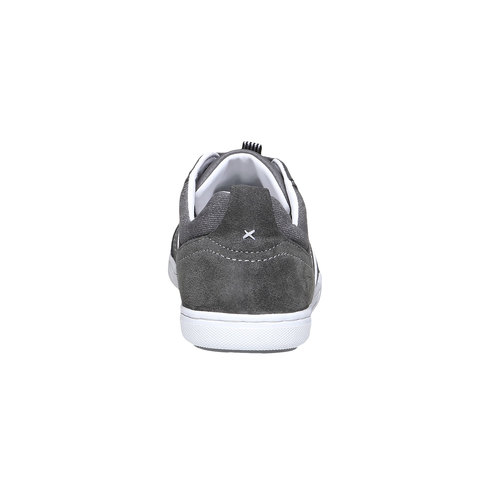 Sneakers informali da uomo bata, grigio, 841-2633 - 17
