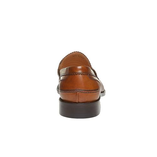 Penny Loafer di pelle da uomo bata-the-shoemaker, marrone, 814-3160 - 17