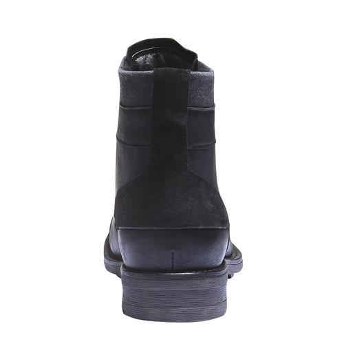 Stivaletti bata, nero, 891-6639 - 17