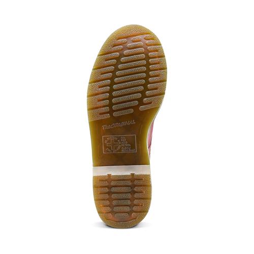 Scarpe in pelle Dr. Marten's alla caviglia dr-martens, rosso, 594-5149 - 17
