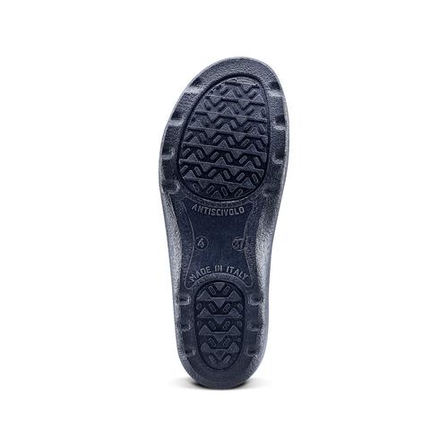 Slip-on in pelle da donna bata-comfit, blu, viola, 574-9805 - 17