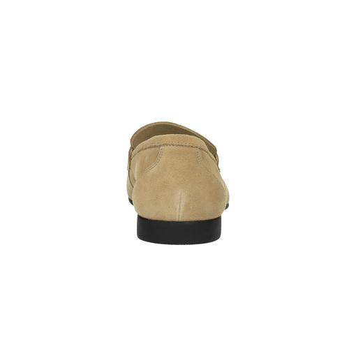 Mocassini da uomo in pelle flexible, beige, 853-8186 - 17