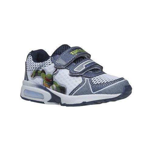 Sneakers Turtles da bambino, bianco, 319-9199 - 13