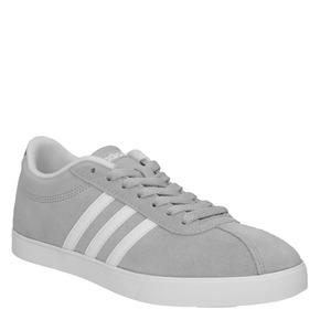 Sneakers da donna grigie in pelle scamosciata adidas, grigio, 503-2201 - 13