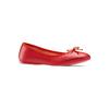 Ballerine in pelle bata, rosso, 524-5144 - 13