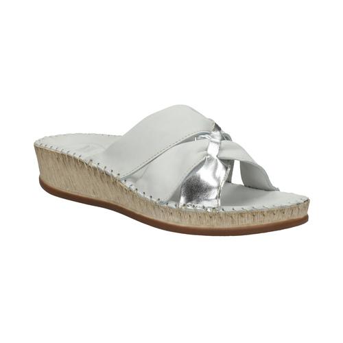 Sandali da donna in pelle, bianco, 574-1248 - 13