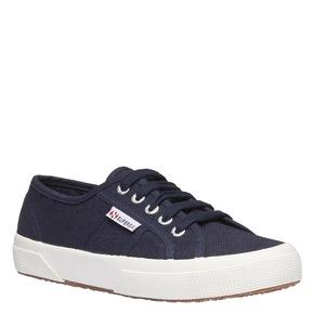 Sneakers di tela superga, blu, 589-9187 - 13