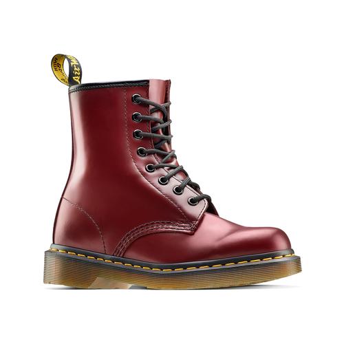 Scarpe in pelle Dr. Marten's alla caviglia dr-martens, rosso, 594-5149 - 13