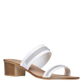 Slip-on da donna bata, bianco, 671-1111 - 13