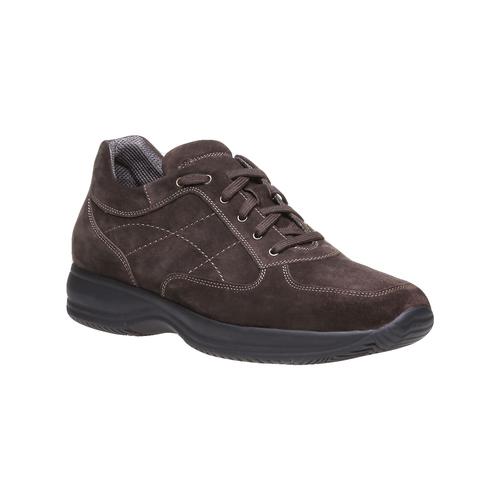 Sneakers di pelle bata, marrone, 843-4315 - 13