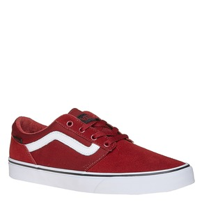 Sneakers da uomo in pelle vans, rosso, 803-5303 - 13