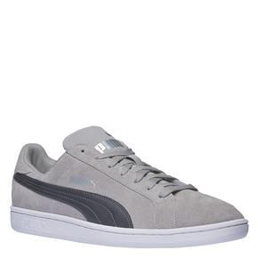 Sneakers in pelle da uomo puma, grigio, 803-2312 - 13