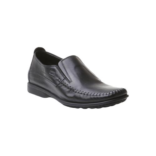Scarpa casual stile Loafer bata-comfit, nero, 854-6833 - 13
