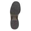 Sneakers da donna di pelle bata, giallo, 623-8229 - 26