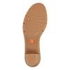Sandali da donna in pelle flexible, viola, 764-9538 - 26