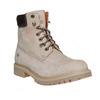 Scarpe in pelle con suola a carro armato weinbrenner, grigio, 896-2820 - 13