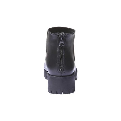 Scarpe alla caviglia con suola massiccia bata, nero, 694-6158 - 17