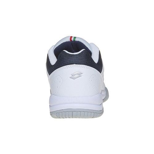 Sneakers sportive bianche lotto, bianco, 801-1148 - 17