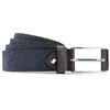 Cintura in suede traforata bata, blu, 953-9325 - 13