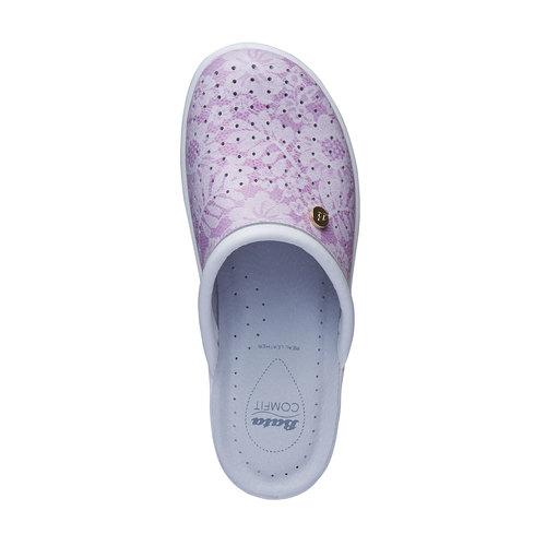 Pantofole da donna, rosso, 574-5254 - 19