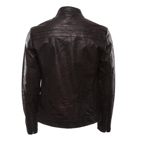 Giacca da uomo in pelle bata, nero, 973-6109 - 26