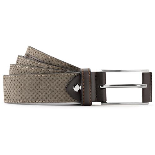 Cintura in suede traforata bata, beige, 953-8325 - 13
