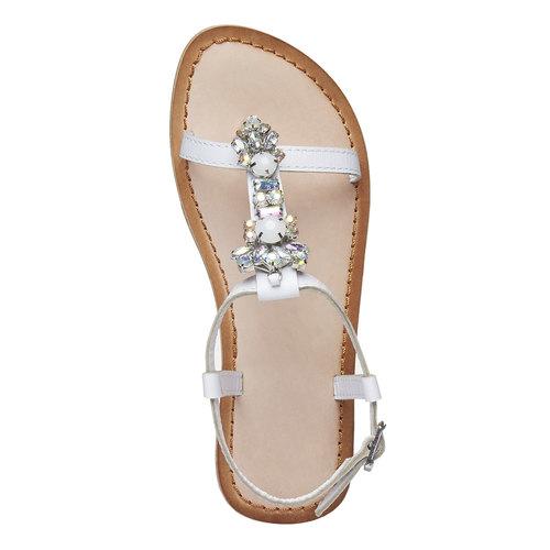 sandalo bimba mini-b, bianco, 364-1163 - 19