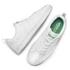 Sneakers bianche con dettagli verdi adidas, bianco, 501-1300 - 19