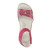 Sandali da ragazza con fiocco mini-b, rosa, 261-5160 - 19