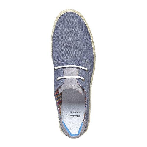 Sneakers informali da uomo bata, blu, 849-9668 - 19