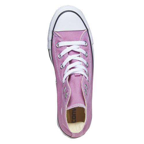 Sneakers da donna alla caviglia converse, viola, 589-9478 - 19