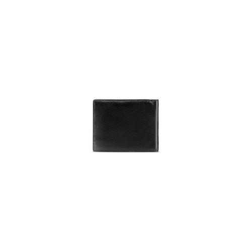 Portafoglio da uomo in pelle bata, nero, 944-6151 - 26