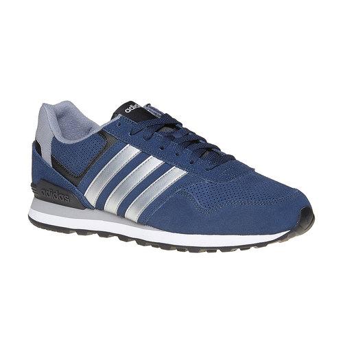 Sneakers da uomo in pelle adidas, blu, 803-9186 - 13