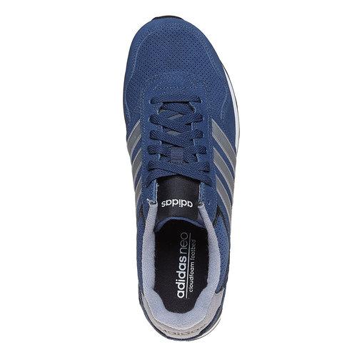 Sneakers da uomo in pelle adidas, blu, 803-9186 - 19