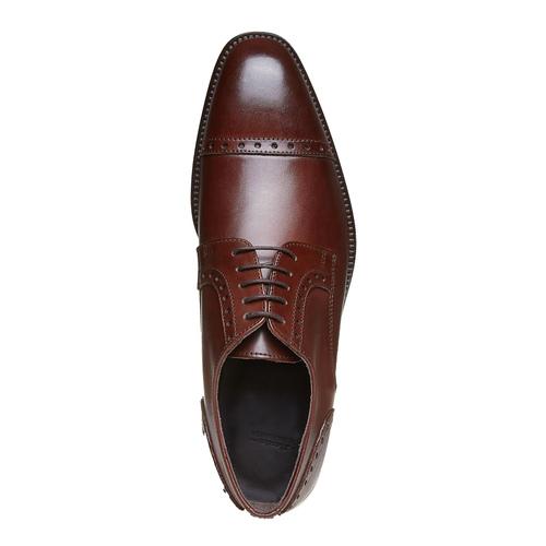 Scarpe basse da uomo in pelle bata-the-shoemaker, marrone, 824-4192 - 19