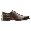 Scarpe basse marroni di pelle da uomo bata, marrone, 824-4460 - 26