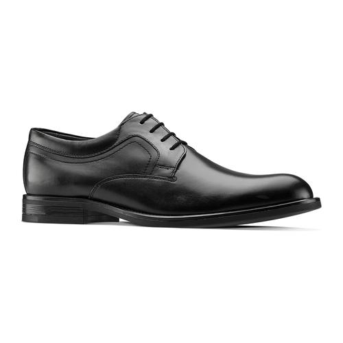 Scarpe stringate in pelle bata, nero, 824-6460 - 13