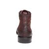 Scarpe di pelle alla caviglia bata, rosso, 894-5505 - 17