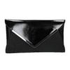 Pochette nera con catena argentata bata, nero, 961-6221 - 26