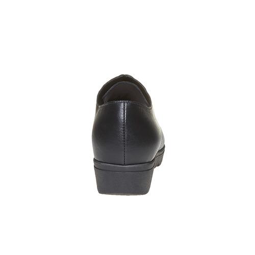 Scarpe in pelle donna con plateau sundrops, nero, 524-6354 - 17